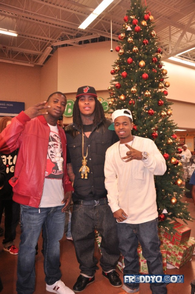 mothermanager debra antney and her mizay entertainment are planning to give back this christmas antneys roster of rappers which includes gucci mane - Gucci Mane Christmas